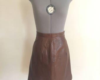 1990 Maxima leatger skirt
