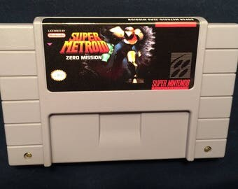 Super Metroid Zero Mission SNES Game English
