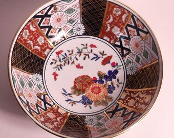 Porcelain Imari dish from gown