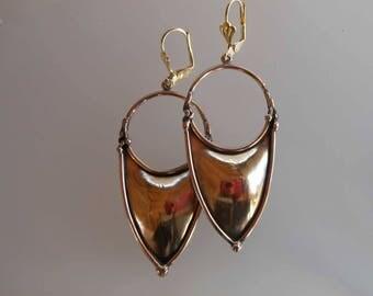 Earrings bronze earrings 0031