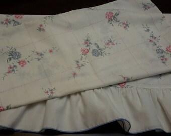 Vintage Floral pillowcase slip bedroom linen craft cover pillow case