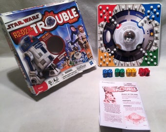 Popomatic Disney Star Wars Trouble Board Game Complete Milton Bradley Great Condition Free Shipping