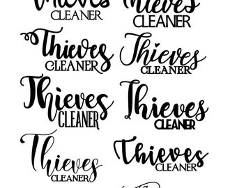 Thieves Cleaner Decal
