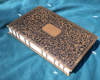On HOLD for CB - The Frozen Pirate (circa 1880) - Hard Cover Sketch Journal