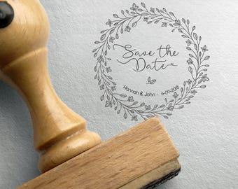 Rustic SAVE THE DATE Stamp, Custom Rustic Save The Date Stamp, Wedding Date Stamp, Rustic Save The Date Stamps Big, Custom Save The Date