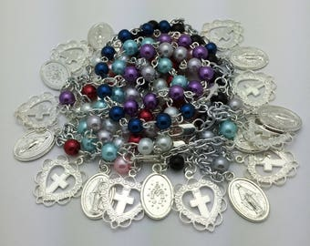 Pearl Rosary Bracelet - Choice of Color