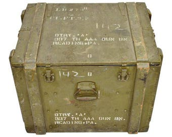 United States Army AAA G Site Equipment Crate