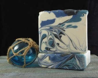 Abalone Seas - Handcrafted Soap - Artisan Soap - Cold Processed Soap - Ocean Dream - Ocean