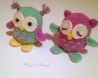 Crochet owl, amigurumi owl, stuffed owl, crochet gift, baby gift, birthday gift, toy,