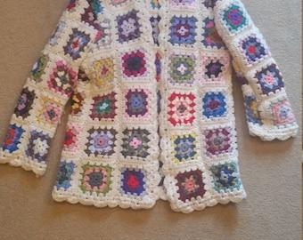 Stunning crochet cardigan