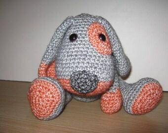 Handmade, Crochet Toy, Soft Toy, Stuffed Animal, Amigurumi Dog - Buddy