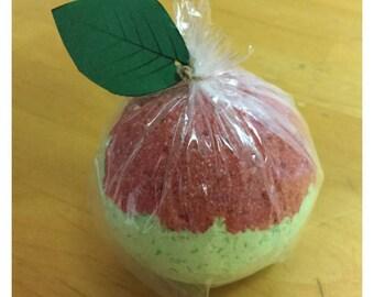 Apple Bath Bomb. Teacher Gift. Green Apple Bath Bomb. GRAD 2017