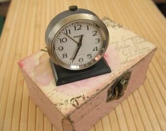 Steampunk Clock Clock alarm Steampunk accessorie Soviet table clock Wrist Watch Parts soviet watches Steampunk accessories Steampunk design