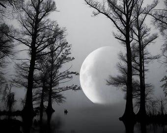 Super Moon at Reelfoot Lake