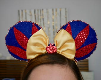 Snow White inspired Minnie Ears | Mickey Ears