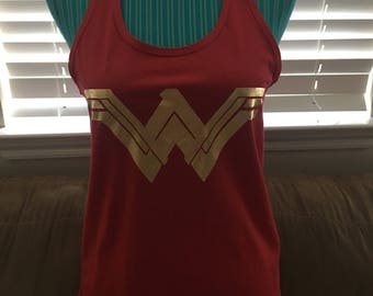 Wonder Woman tank top new logo