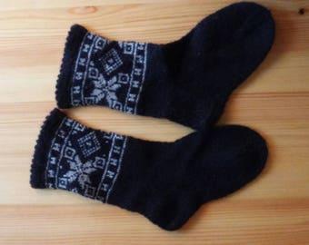 wool socks knitted socks knit socks winter socks knit wool socks hand knit socks mens socks wool socks women handmade socks home  socks
