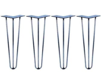 4x Hairpin Legs - Coffee Table - 20 inch / 50cm (All Styles and Finishes)