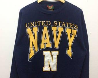 Rare!! united states navy sweatshirt