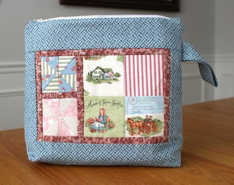 Anne of Green Gables - Knitting Project Bag - Gift For Knitters