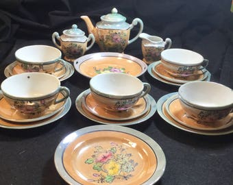 1920's Childrens Tea Set Made In Japan