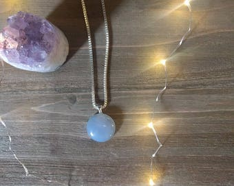 Opalite Necklace, Necklace, Crystal Jewelry, Opalite Jewelry, Gift For Her, Gift for Mom, Necklace For Her