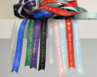 Personalised Birthday Ribbon