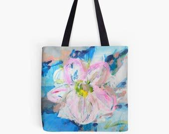 Floral Bag, Floral Tote Bags, Floral Cotton Bag