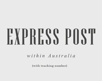 EXPRESS POSTAGE within Australia