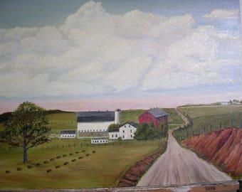 The Rural Life  0672  ronmyersartist