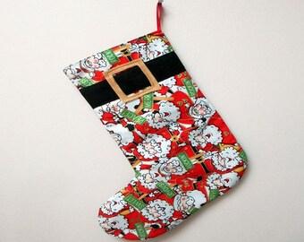 "Cute Christmas stocking ""Santa"""