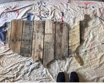 Large Pallet Wall Art | Pallet Signs | Pallet Art | Rustic Home Décor | Reclaimed Wood Wall Art | Wood Sign | Wall Décor | Wall Hanging