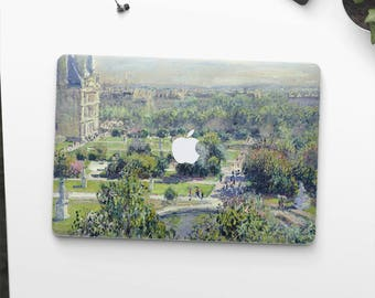 "Claude Monet, ""Les Tuileries"". Macbook Pro 15 cover, Macbook Pro 13 cover, Macbook 12 cover. Macbook Pro cover. Macbook Air cover."