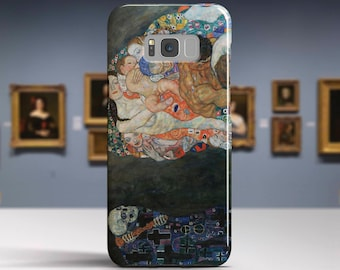 "Gustav Klimt, ""Life and Death"". Samsung Galaxy S8 Plus Case LG V30 case Google Pixel Case Galaxy A5 2017 Case. Art phone cases."