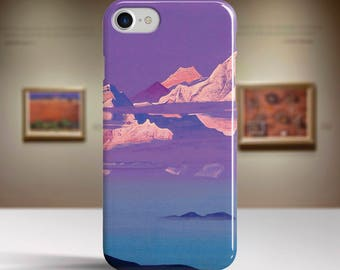 "Nicholas Roerich, ""Himalayas"". iPhone 7 Case Art iPhone 6 Case iPhone 8 Plus Case and more. iPhone 7 TOUGH cases. Art iphone cases."
