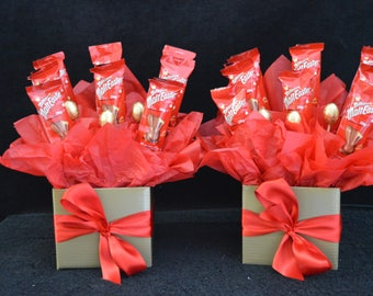 Malteser Chocolate Bunny Bouquet