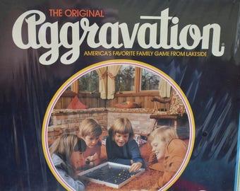Aggravation Game Vintage still in wrapper