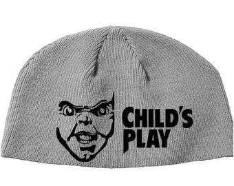 Chucky Child's Play Bride Seed Curse Cult Beanie Knitted Hat Cap Winter Clothes Horror Merch Massacre Christmas Black Friday