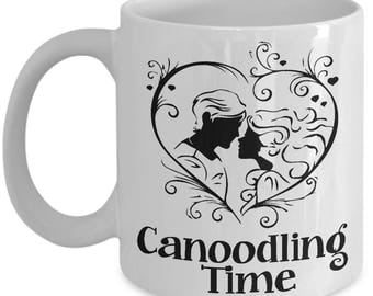 Hopeless Romantic Mug - Canoodling Time - Poetic Ceramic Coffee Cup