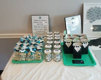 Party decorations and favors
