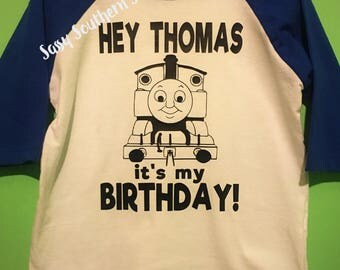 Thomas the Train Birthday Top