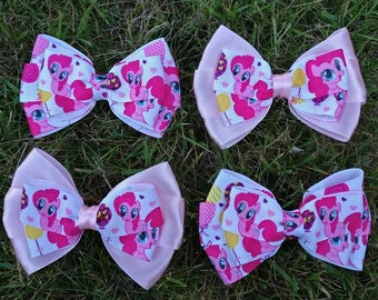 Handmade My Little Pony hair bows