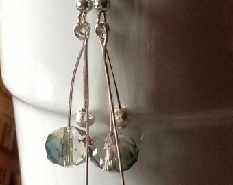 Triple-tiered Dangly earrings