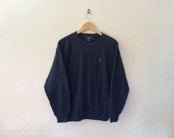 Vintage Pologround Sport Faux Fury Sweatshirt
