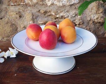 Limoges Ulim porcelain cake stand