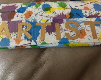 Duct tape womens wallet