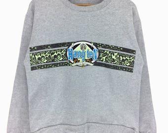 Rare !!! Vintage HANG TEN Sweatshirt Pullover Jumper Rap Tees Hip Hop Swag