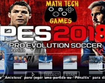 PES 2018 PSP (PPSSPP)
