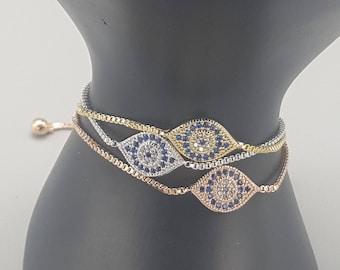 Protective Eye Slider Bracelet