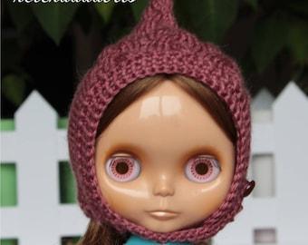 Blythe pixie hat, helmet handmade